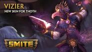 SMITE - New Skin for Thoth - Vizier