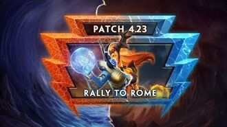 """SMITE Patch Notes Show - 4.23 """"Rally to Rome"""""""