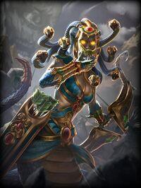 Medusa MortalCoil Card