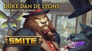 SMITE - New Skin for Anhur - Duke Dan de Lyons