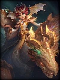 Scylla dragon-empress Card