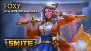 SMITE - New Skin for Amaterasu - Foxy