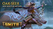 SMITE - New Skin for Artemis - Oak-Seer