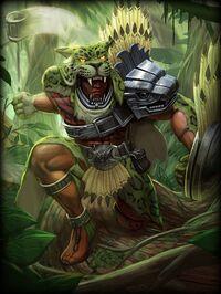 Xbalanque JungleBeast Card
