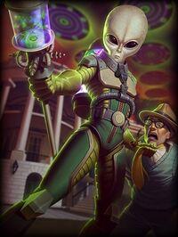 AhPuch Alien Card
