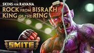 SMITE - New Skins for Ravana - King of the Ring & Rock from Bisrakh
