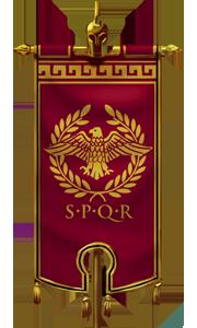Flag roman