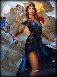 Hera golden Card