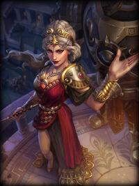 Hera crimson-queen Card