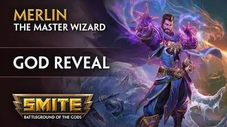 SMITE - God Reveal - Merlin, the Master Wizard