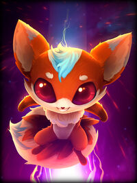 Ratatoskr kitsune Card