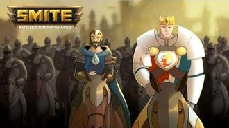 SMITE - The Heroes of Camelot Ride into the Battleground Merlin & Arthur Teaser