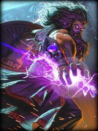 Zeus Thunderhead Card