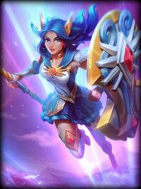 Athena mystic-guardian Card