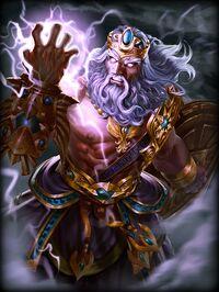 Zeus Olympus Card