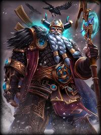 Odin RavensThrone Card