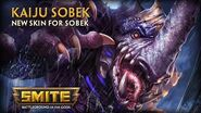 SMITE - New Skin for Sobek - Kaiju