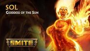 SMITE - God Reveal - Sol, Goddess of the Sun