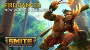 SMITE - New Skin for Xbalanque - Fire Dancer