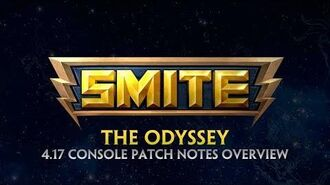SMITE - 4.17 Console Patch Overview - The Odyssey