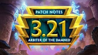 SMITE Patch Notes VOD - Arbiter of the Damned (Patch 3.21)