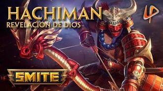 SMITE Revelación de Hachiman en español