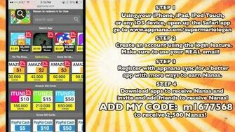 How To Get Free Apps, Gift Cards, and Money! | SuperMarioLogan Wiki