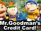 Mr. Goodman's Credit Card!