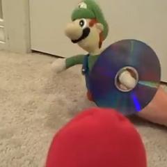 Mama Luigi Holds the CD