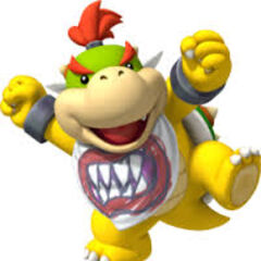 Bowser junior in super mario.
