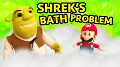 SML Movie Shrek's Bath Problem!
