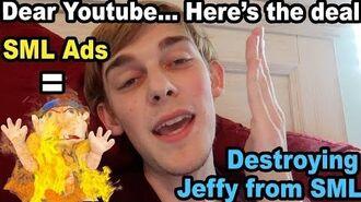 BURNlNG SML JEFFY PUPPET!!.. if SML gets Ads back!