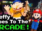 Jeffy Goes to the Arcade!