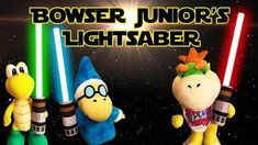 SML Movie Bowser Junior's Lightsaber!