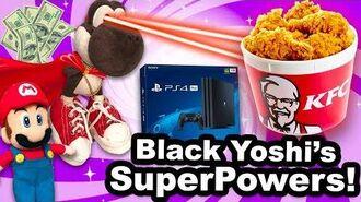 SML Movie Black Yoshi's SuperPowers!