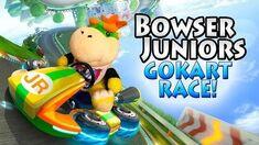 SML Short- Bowser Junior's GoKart Race!