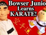 Bowser Junior Learns Karate!