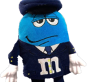 Blue M&Ms Officer