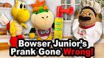 Bowser Junior's Prank Gone Wrong