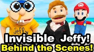 SML Movie Invisible Jeffy! BEHIND THE SCENES! (CRINGY)