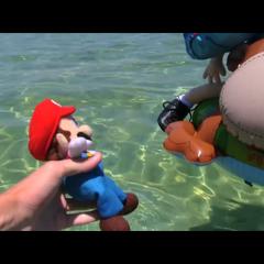 Mario Swim!
