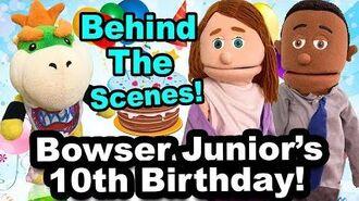 SML Movie Bowser's Junior's 10th Birthday BTS