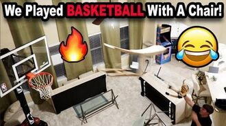 We Played Basketball With A Chair!! 😂 *BTS*