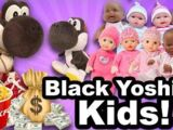 Black Yoshi's Kids!