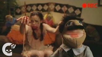Puppeteered Short Film Crypt TV