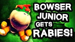 Bowser Junior Gets Rabies Supermariologan Wiki Fandom