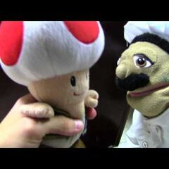 Toad with Chef Pee Pee