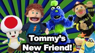 GG Games R Us Movie Tommy's New Friend!