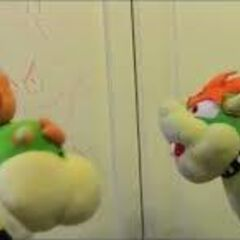 Bowser yells at Junior
