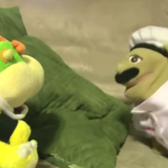 Bowser Junior and Chef PeePee|Chef Pee Pee